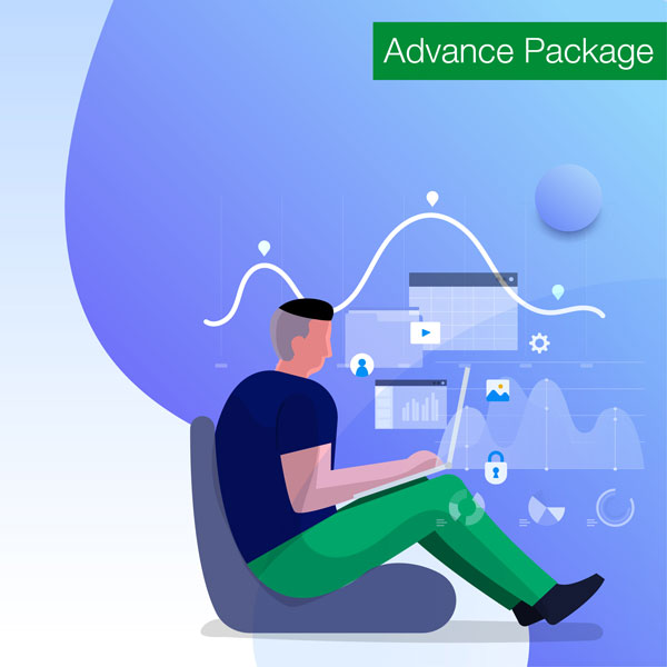 Social media advance package